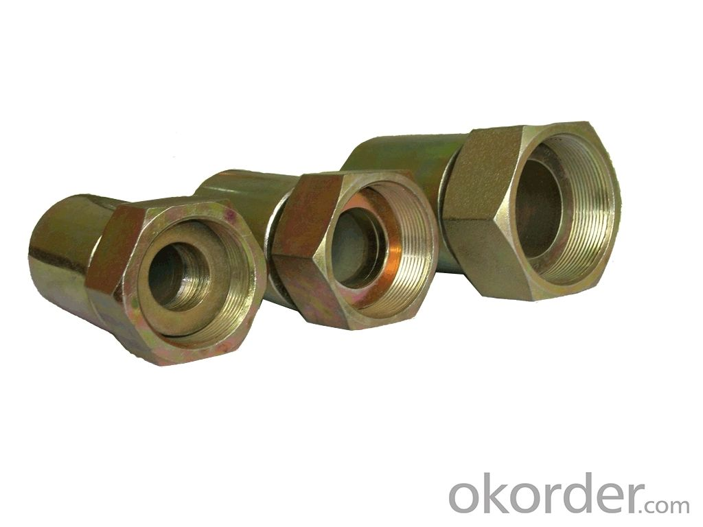 Reusable Fittings BSP Female 60 Deg Cone DN7