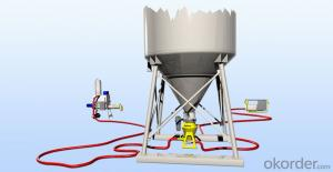 BLOBOY Pneumatic Conveying System for Dry Premixed Building Materials