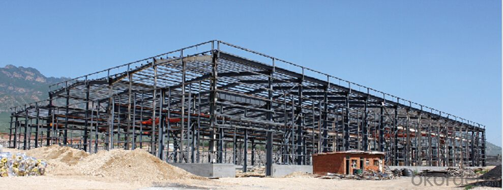 HEAVY STEEL STRUCTURE BUILDING AND PROJECT --BT- 008