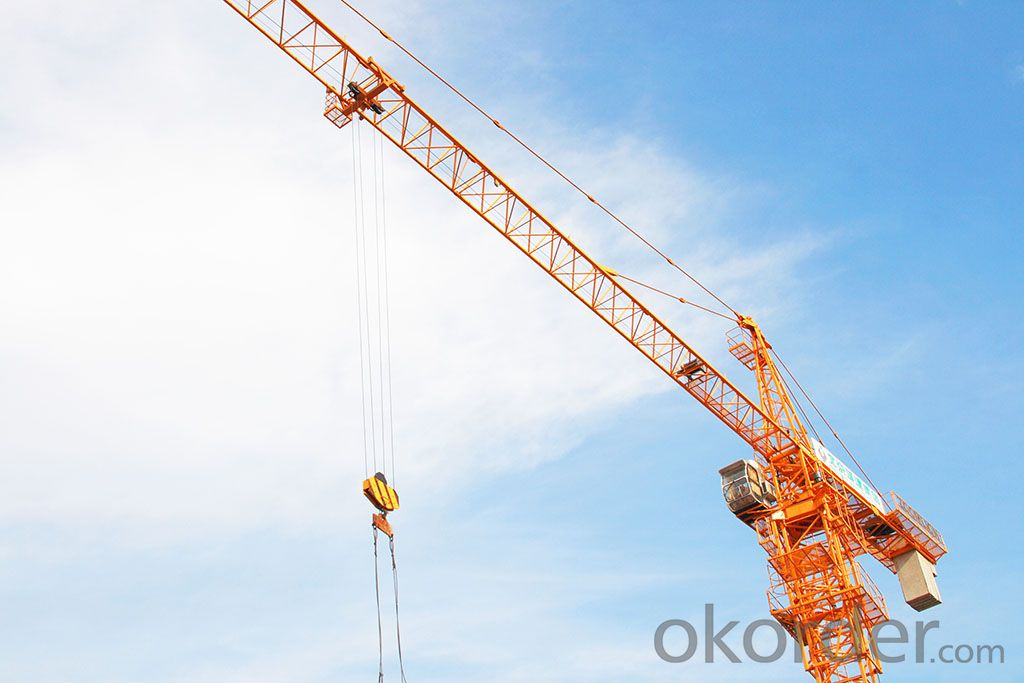 Used Tower Crane Potain/BPR GT1000 tower crane