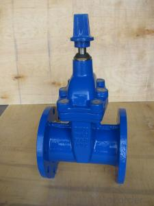 Gate Valve GOST Standard Cuniform  Flanged Light Grade Water Oil Pipe Used Carbon Steel