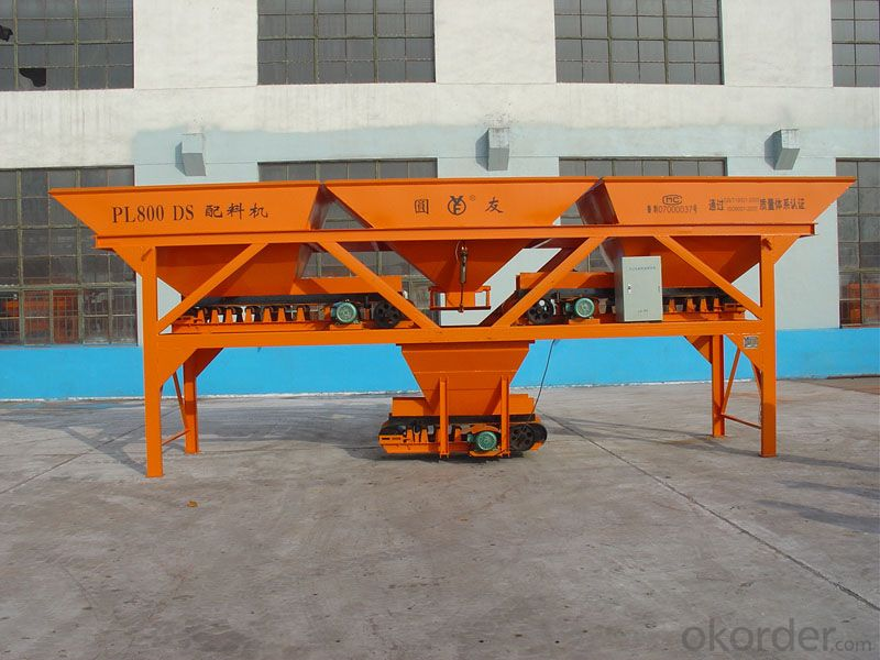 Concrete Batching Machine PL800S / CE & ISO Certificate