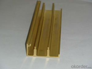 High Density Copper Profile for Electronic Leadframe