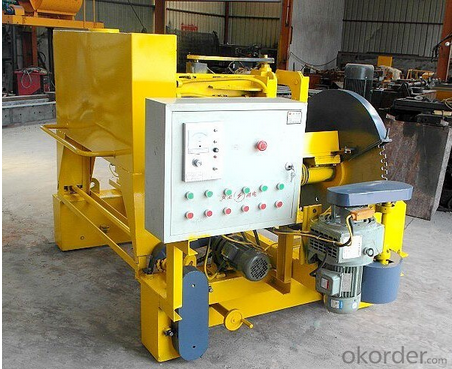 Hollow core slab cutting machine automatic