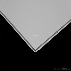 TOBOND aluminum metal ceiling/aluminum kitchen ceiling/lay-on ceiling/clip-in ceiling
