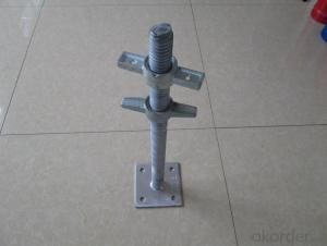 Scaffolding screw jack shoring square-head Jack