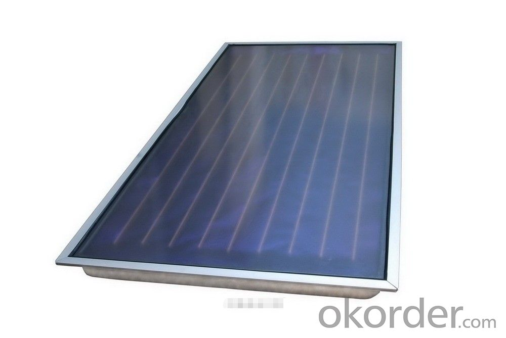 Buy Black Chrome Flat Panel Solar Thermal Collector Price
