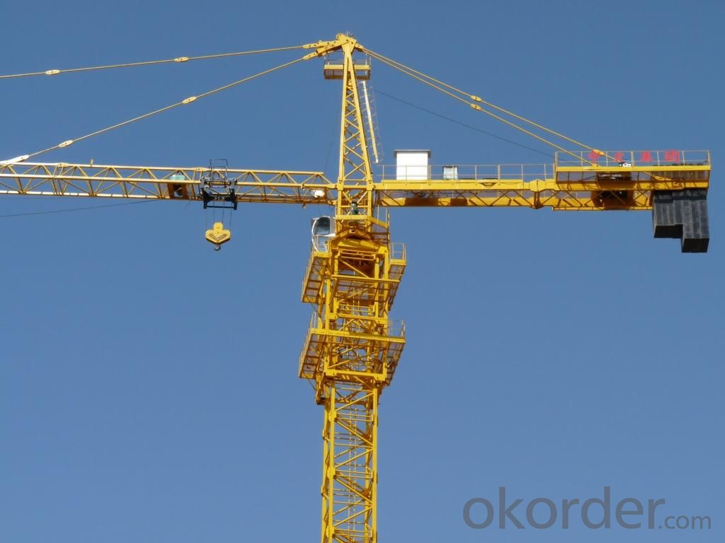 Buy tower crane qtz63 6t tower crane 5013 tower crane for The crain