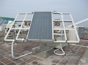 Split pressurized solar collector,vacuum tube solar thermal collector