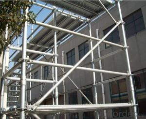 Superior Q235 Q345 Steel Galvanized Ringlock Scaffolding with High Quality