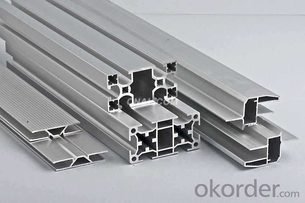 Mill Finished Aluminum Profile in China all Alloy Series