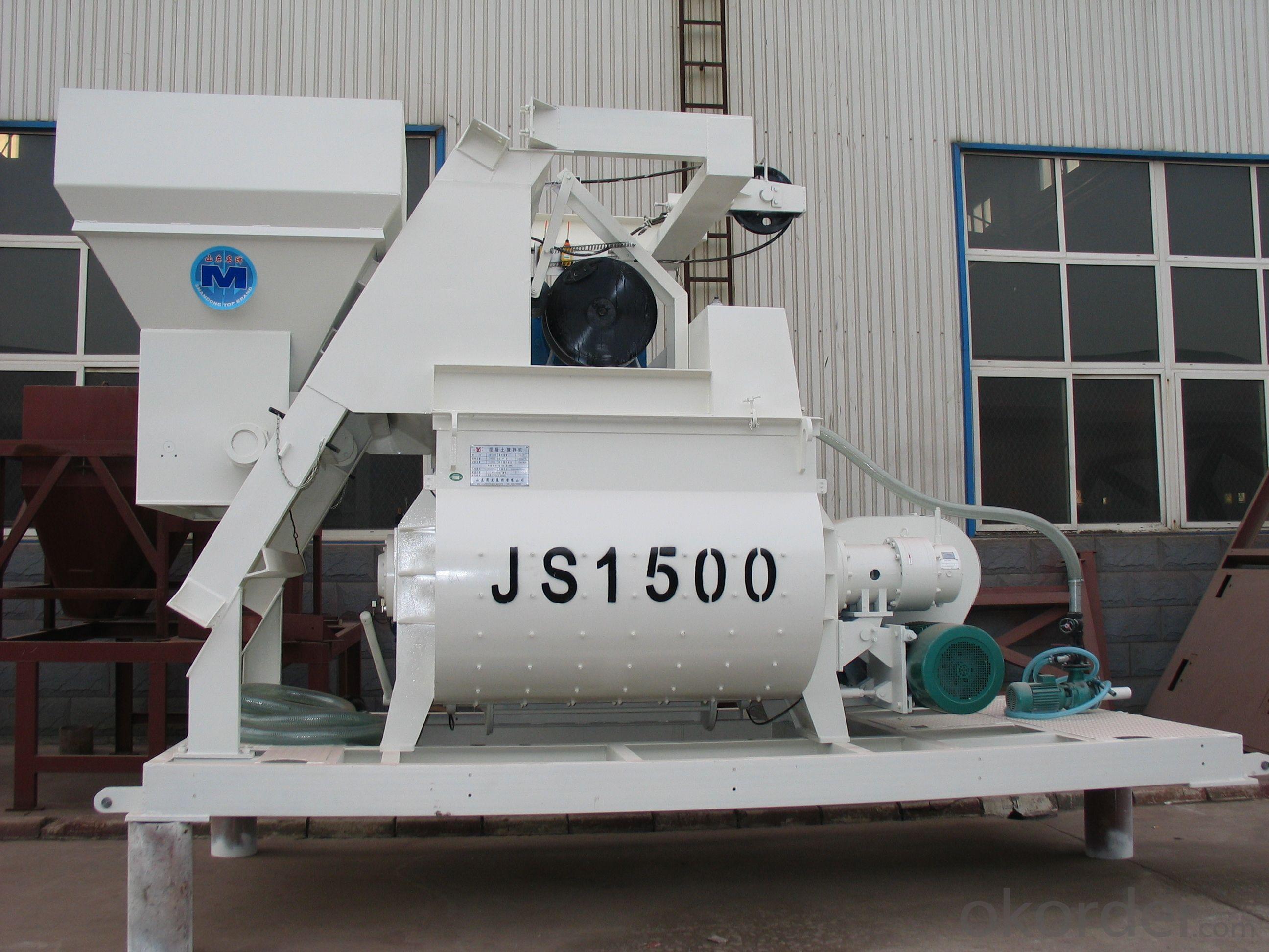 Concrete mixer JS1500 / CE & ISO Certificate