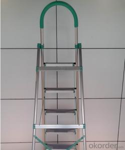 Aluminum Adjustable Step Ladder Manufacturer