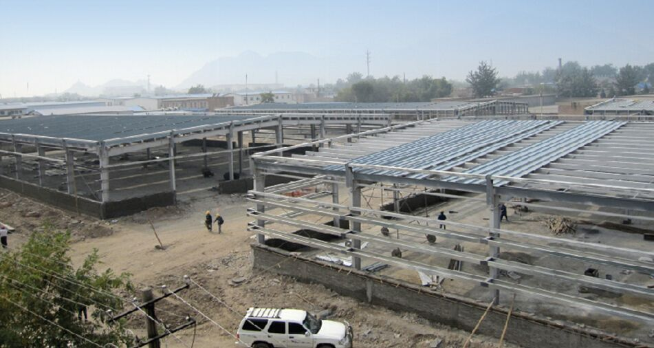 HEAVY STEEL STRUCTURE BUILDING AND PROJECT --BT- 018