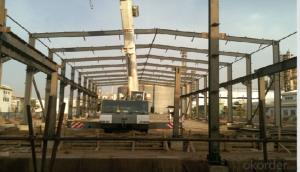 HEAVY STEEL STRUCTURE BUILDING AND PROJECT --BT- 012