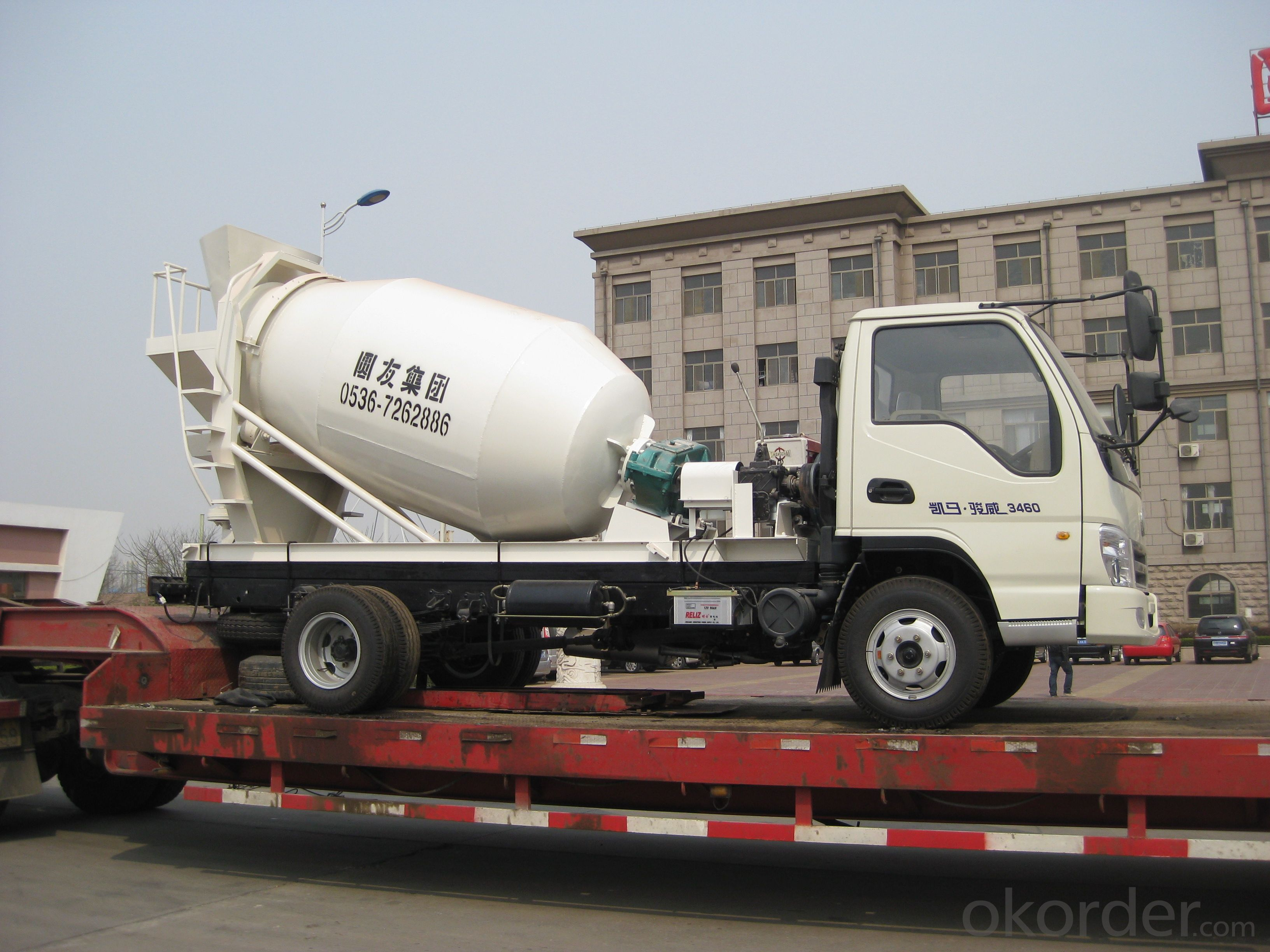 3m³  Concrete truck mixer / ISO & CE certificate