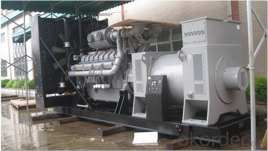 100kva 1006-6TAG Water Cooled Genset Diesel Generator, Perkins Industrial Diesel Engine