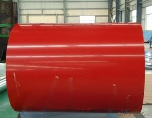 PPGI prepainted galvanized steel coil color coated steel coil