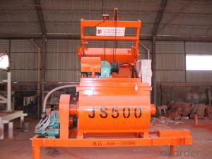 Concrete mixer JS500 / CE & ISO Certificate