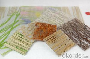CMAX Natural Resin Decorative Sheet with Different sizes and colors