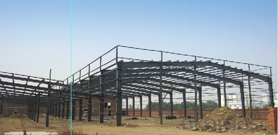 HEAVY STEEL STRUCTURE BUILDING AND PROJECT --BT- 017