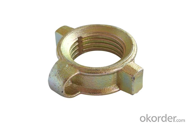 Prop nut heavy Prop nut forged with L handle BS1139, EN74