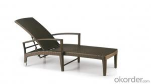 Rattan Furniture Beach Chair Chaise Lounger