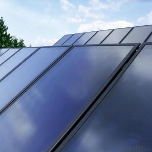 PHNIX flat plate solar thermal collectors with Germany absorber