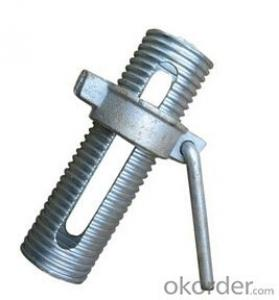 Scaffold Prop sleeve nut with L handle for middle east