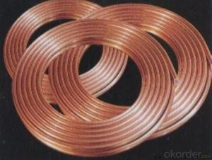 Refrigeration Copper Pipe for Finned Refrigeration Pipe