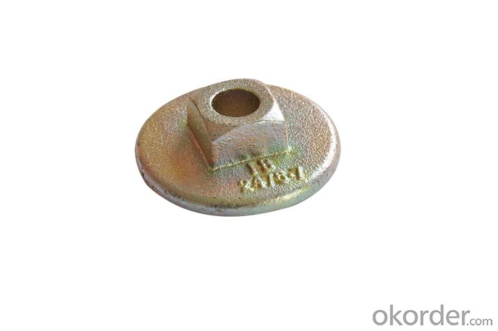 Scaffold Adjustable Shoring Prop Nut Casting wing nut plate