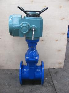 Gate Valve DIN3352 F4 Resilient Soft Seat Non-rising