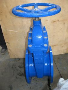 Carbon steel russian standard flanged gate valve Z41H-26C
