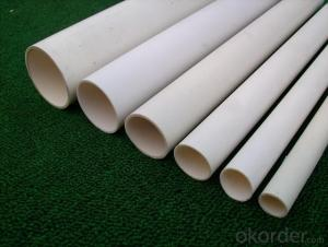 PVC pipe with 110MM, ASTM, AS,BS,ISO, GB, varios color