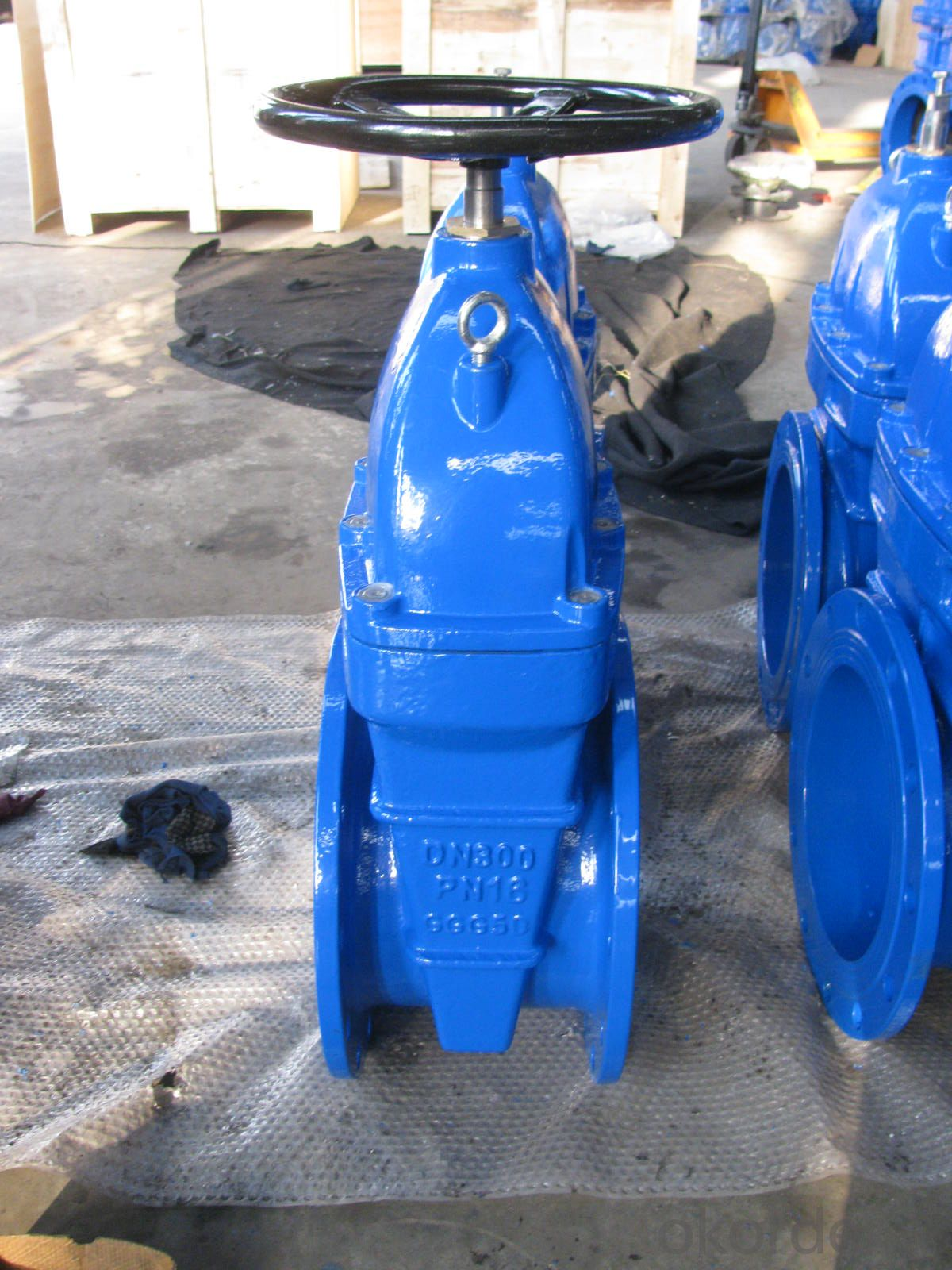 Gate Valve Ductile Iron Rising Stem Resilient Seated