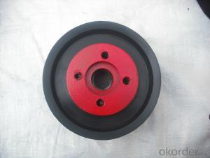 ZOOMLION RUBBER PISTON WITH FIBER DN200 WITH HIGH QUALITY