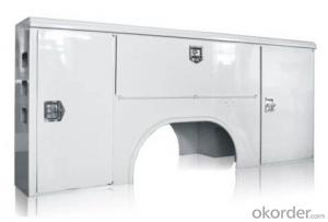 Truck body for heavy truck and automobiles for loading