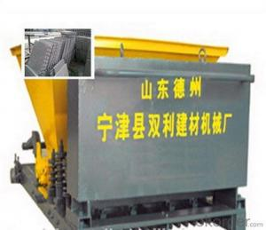 Lightweight hollow core wallpanel making machine