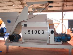 Concrete mixer JS1000 / CE & ISO Certificate