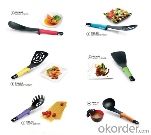 ART no.06 Nylon Kitchenware set for cooking