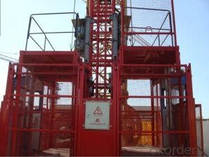 SC200/200 Frequency conversion construction hoist (III type A&C)