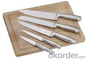 Art no. BLB16 Stainless steel knife set for kitchen