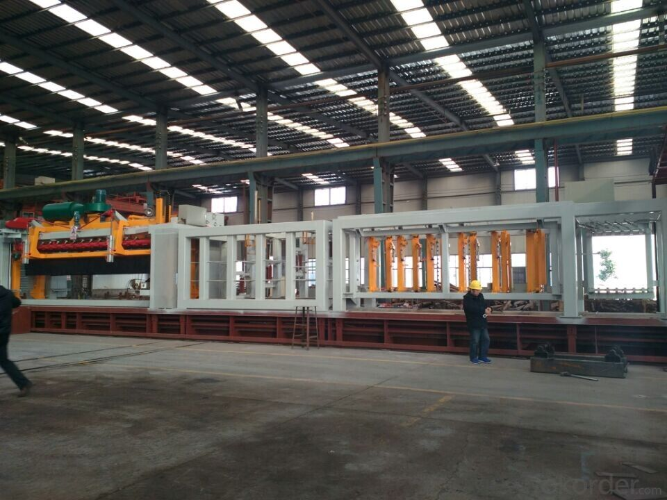 300,000m3/year AAC Block Brick/Autoclaved Aerated Concrete Production Line Machinery