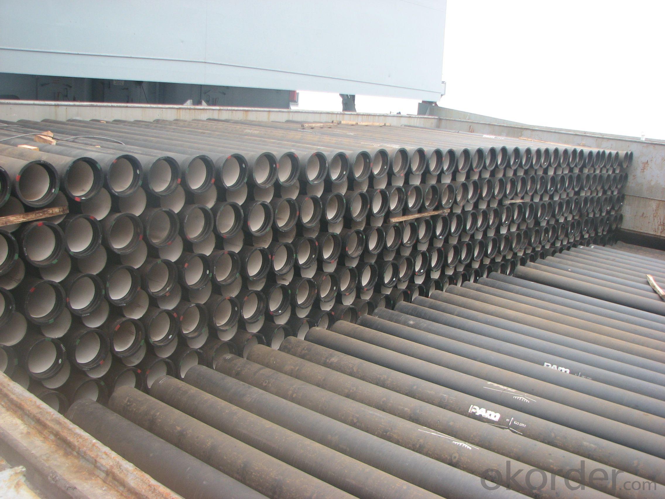 Ductile Iron Pipe ISO2531/EN545/EN598 ClassC DN200-DN900