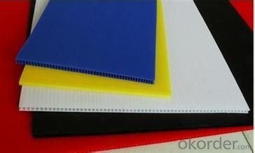 Anti-static Polypropylene Corrugated Sheet with diffferent thickness and colors