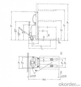 Semi-electric Stacker SPM15