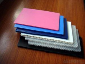 2mm -12mm Polypropylene Hollow sheet and quality guaranteed