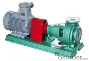 Fluorine Plastic Chemical Pumps with High Quality