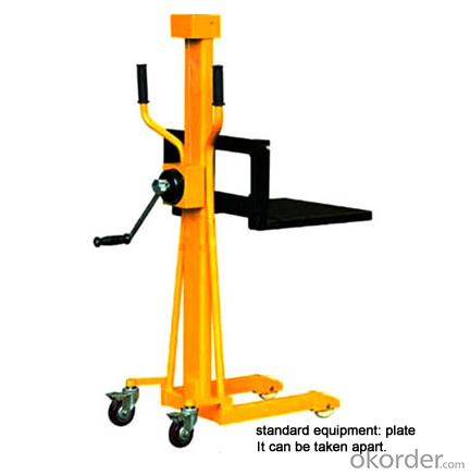 STACKER PRODUCT SERIE - Mechanical hand stacker-LS