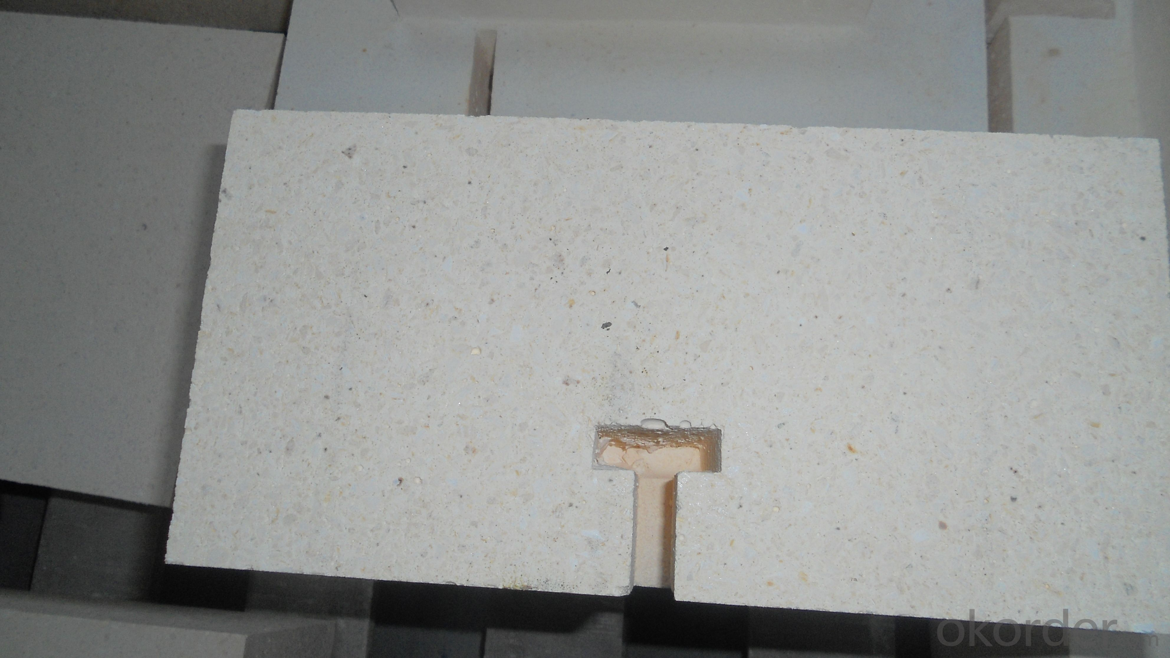Middle Zirconian Refractory Brick for furnace